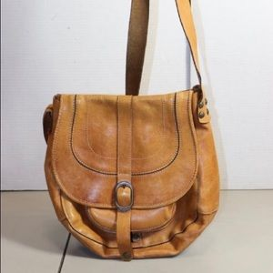 Patricia Nash Tan Leather Crossbody